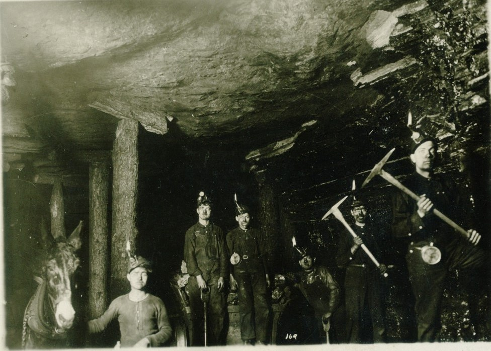 In the late 1800s and early 1900s, coal miners used candles to make their way deep underground through the mines, a dangerous practice because of the highly explosive nature of coal dust.
