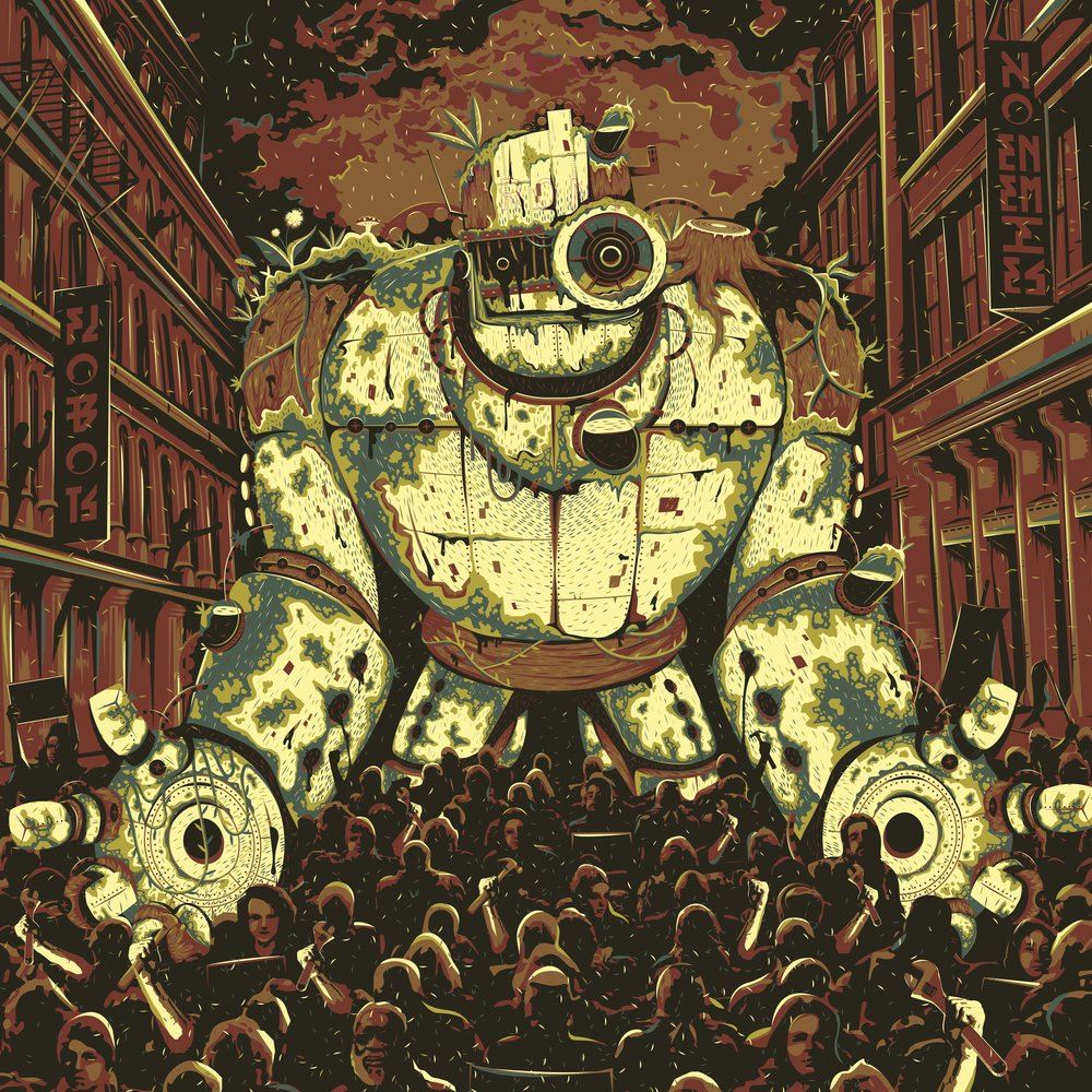 Cover art for NOENEMIES by Flobots