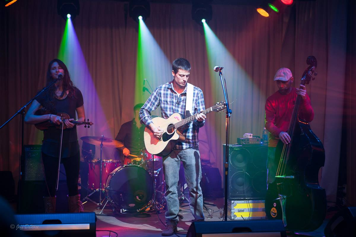 Local group Woodshed Red is known for their creative bluegrass-inspired renditions of classic rock songs.