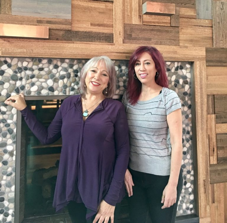 Left to right: Michelle and Turu Marx, co-owners of Coquette's Bistro & Bakery.