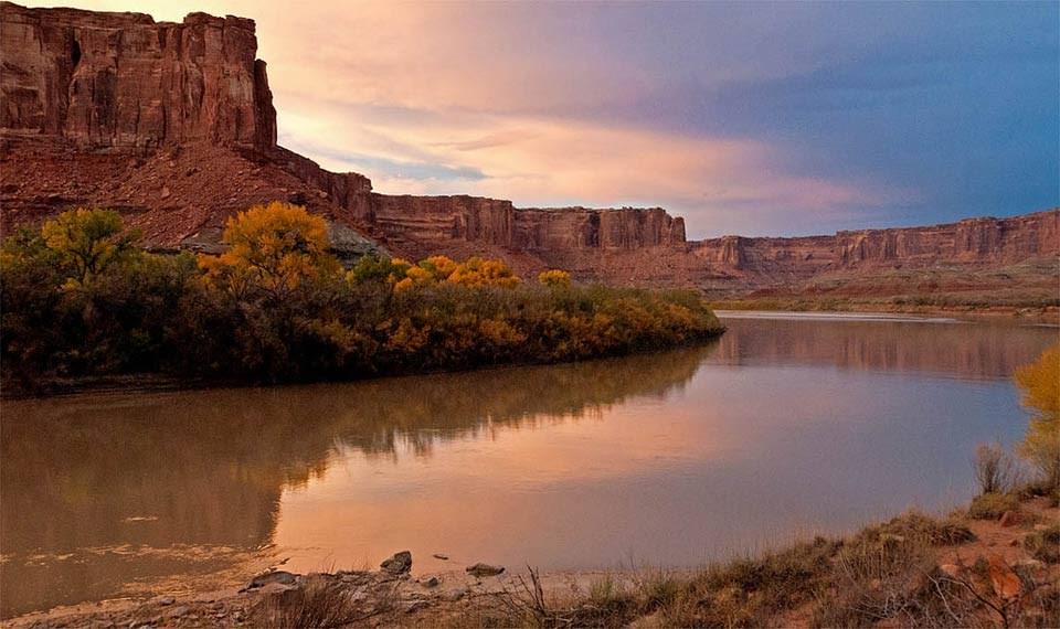 The Green River in Utah