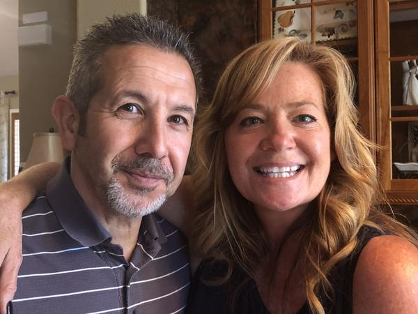 Foster parents Mario and  Ann Perricone