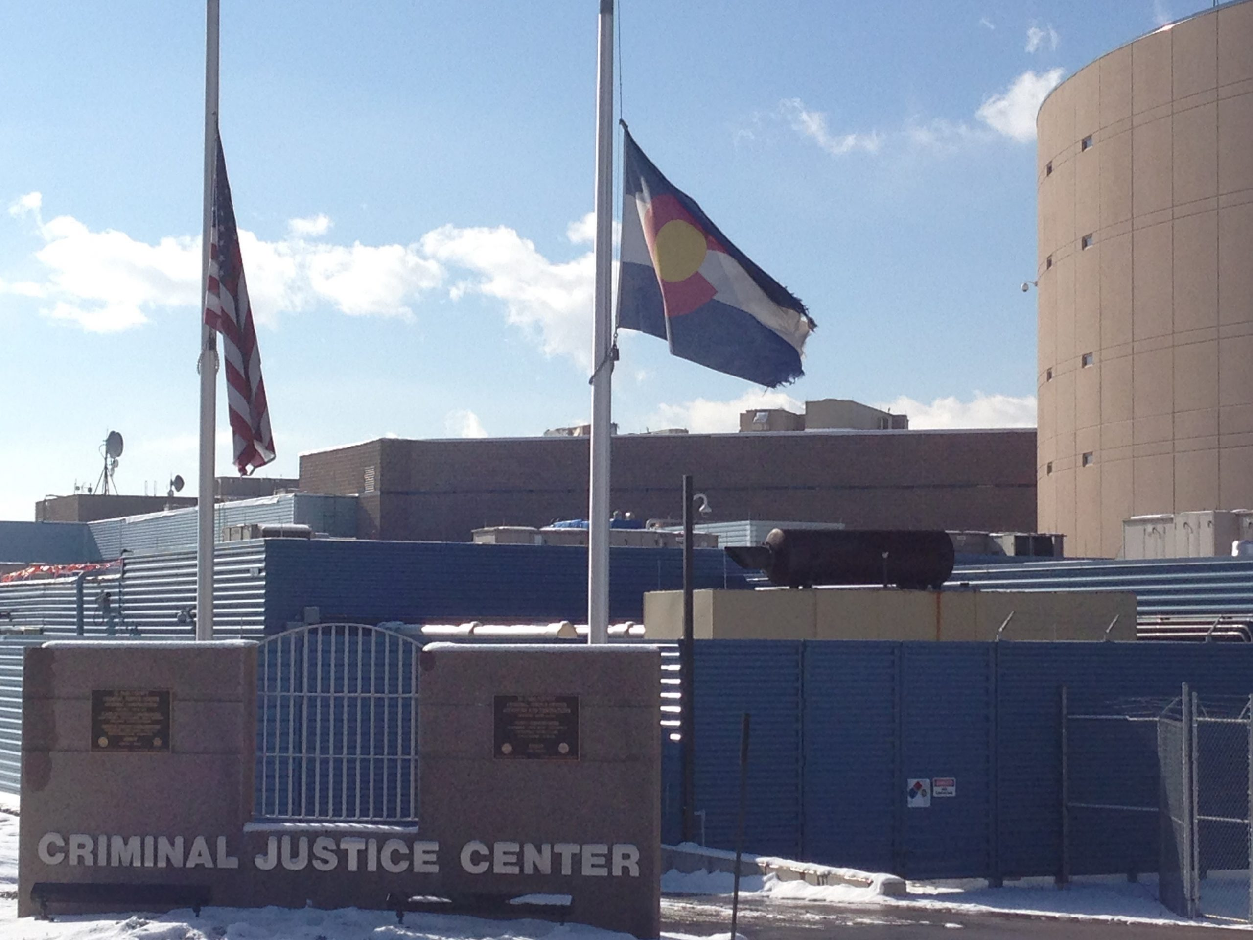File photo of the El Paso County Criminal Justice Center