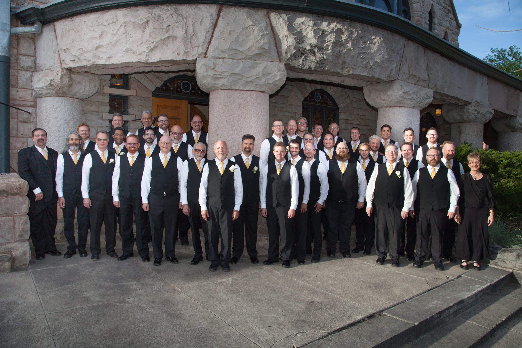 2016 photo of the Out Loud Colorado Springs Men's Chorus