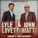 Lyle Lovett/John Hiatt