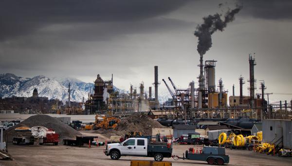 A refinery in Salt Lake City, Utah.