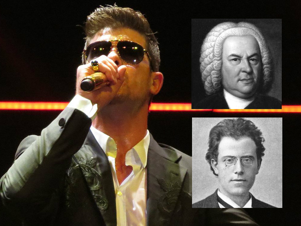 <p>Singer Robin Thicke's in good company. Some of the greatest composers of classical music borrowed from their predecessors.</p>