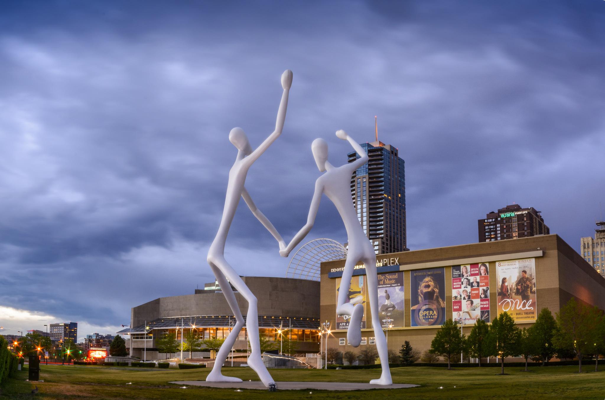 <p>TheDenver Performing Arts Complex.</p>