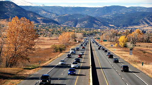 <p>U.S. Highway 36 between Denver and Boulder.</p>