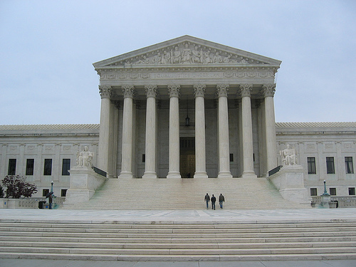 <p>The United States Supreme Court, pictured above in the nation's capitol,  is the center of attention ahead of yet another highly-anticipated ruling. </p>
