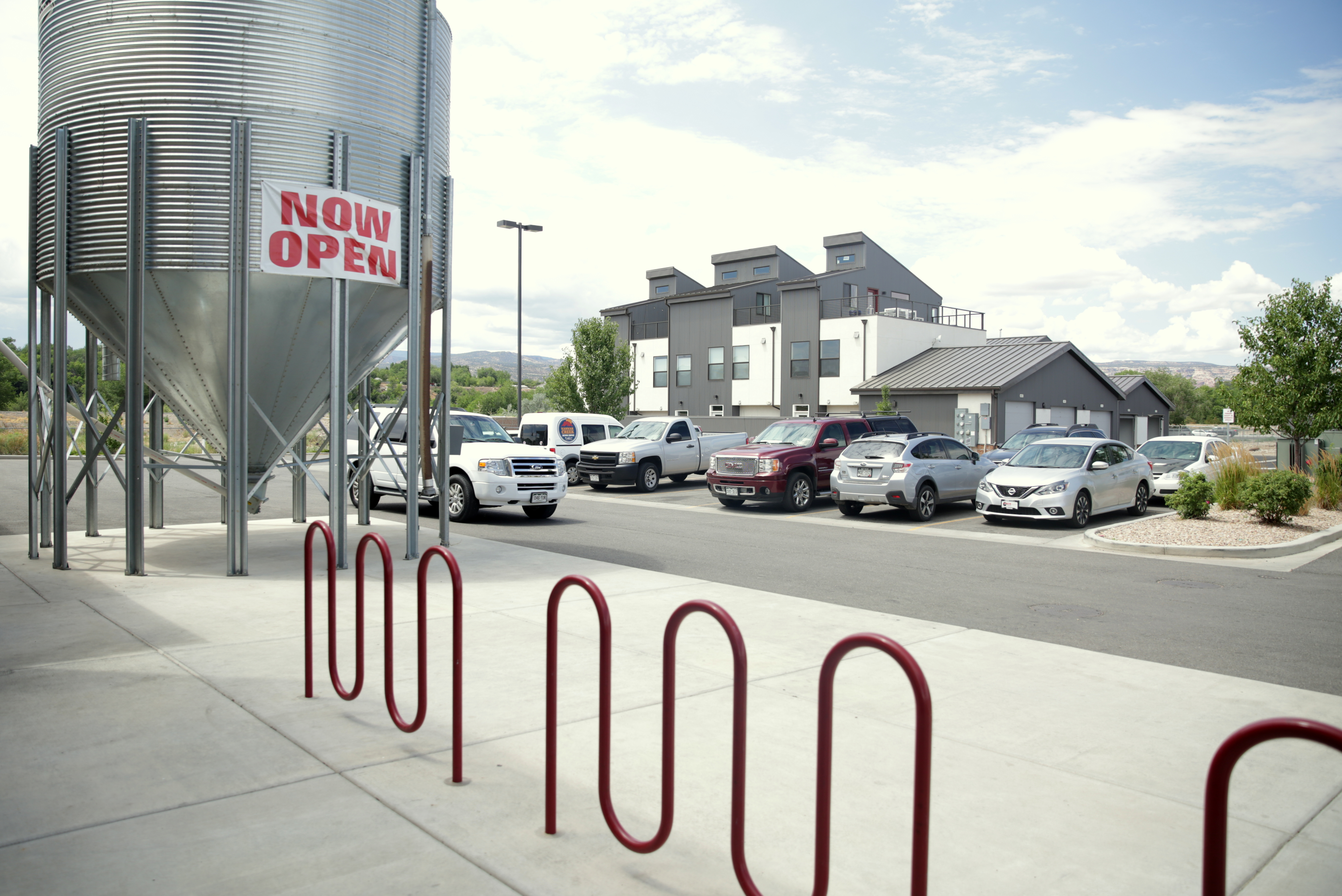 <p>Next to Edgewater Brewery are new townhomes. The riverfront area in Grand Junction is a hub for redeveopment.</p>