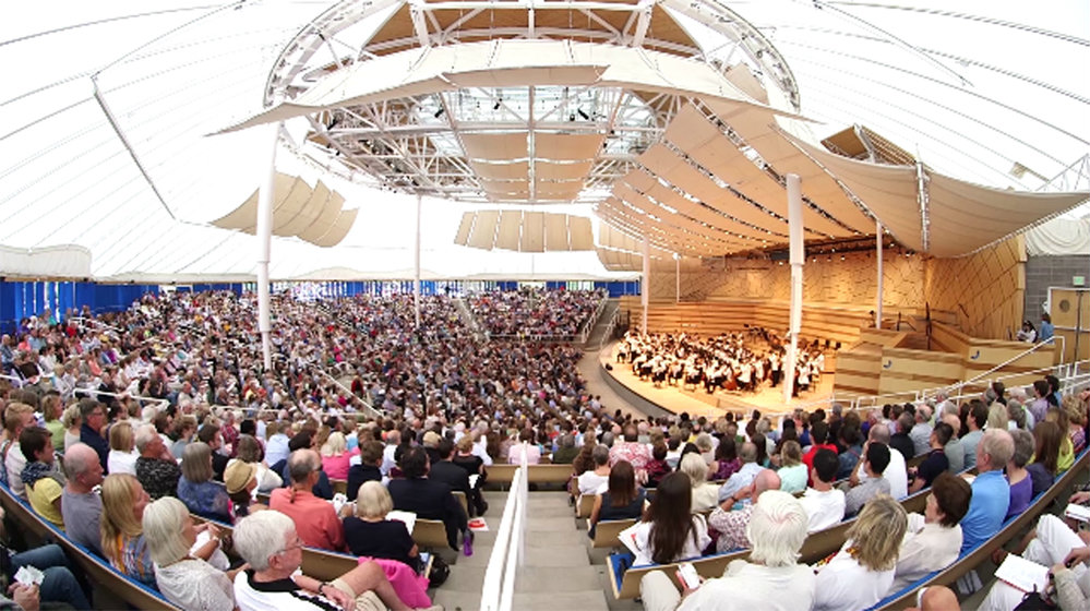 <p>A performance at the Aspen Music Festival and School.</p>