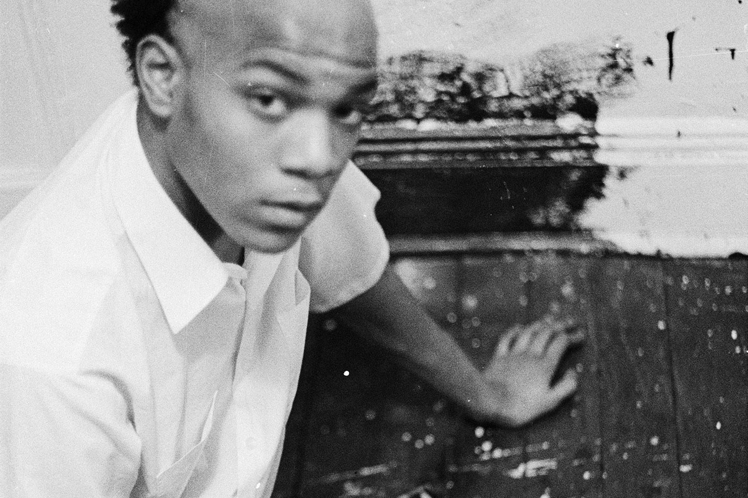<p>Jean-Michel Basquiat painted on the floor, walls and doors of the New York City apartment he shared with Alexis Adler nearly 40 years ago.</p>