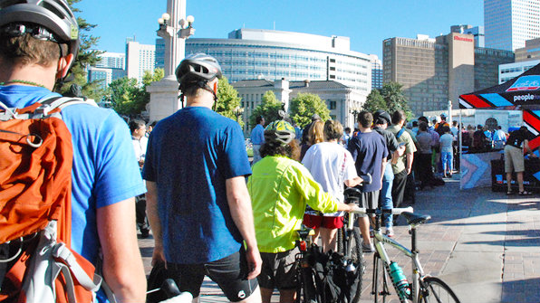 <p>Up to 30,000 bicyclists are expected to participate in Bike to Work Day along the Front Range.</p>