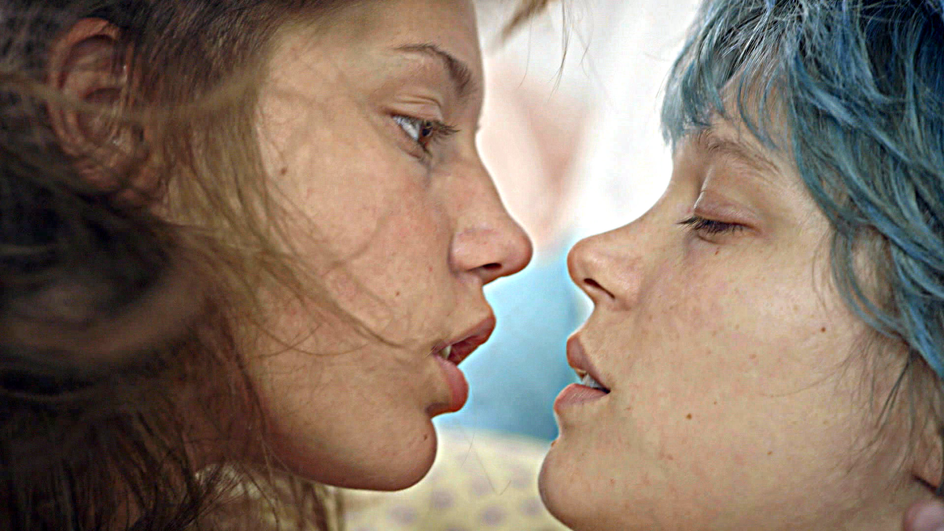 "<p>Adele (Adèle Exarchopoulos), left,  and Emma (Léa Seydoux) in Abdellatif Kechiche's  ""Blue is the Warmest Color"".</p>"