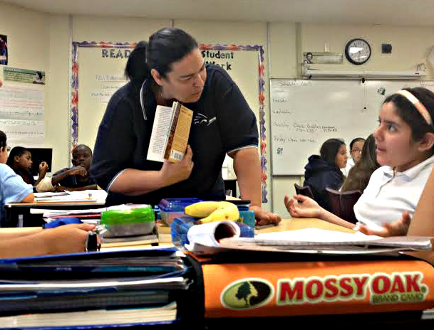 "<p>Fifth grade teacher Dawn Jackson says social emotional programs like PATHS are critical for students who carry around a lot of stress to learn social skills, how to conduct oneself in a classroom, and how to calm down. ""There are so many other things we have to combat before we can get to 'here's the instruction piece,'"" she says.</p>"
