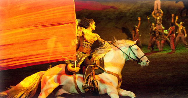 """<p>""""Odysseo"""" byCavalia culminates its run in Denver this weekend.</p>"""
