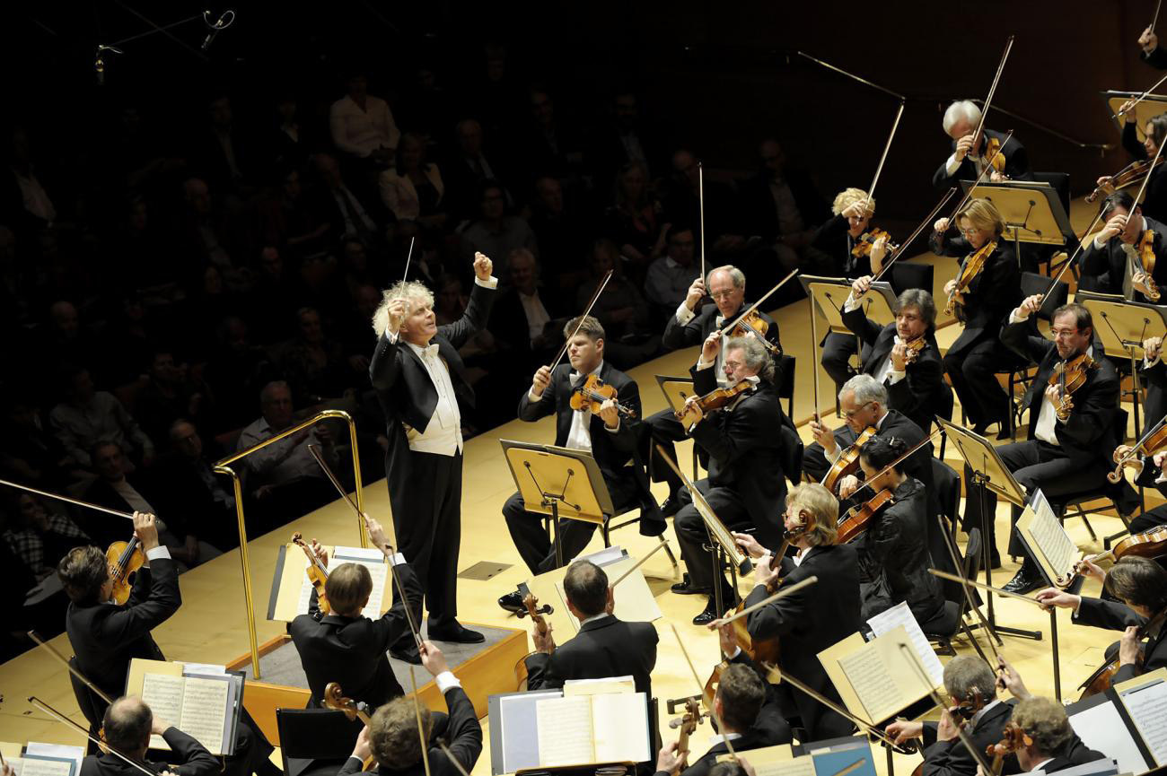 <p>The Berlin Philharmonic.</p>