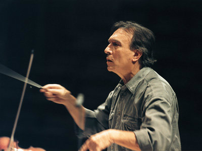 <p>Conductor Claudio Abbado, 1933-2014.</p>
