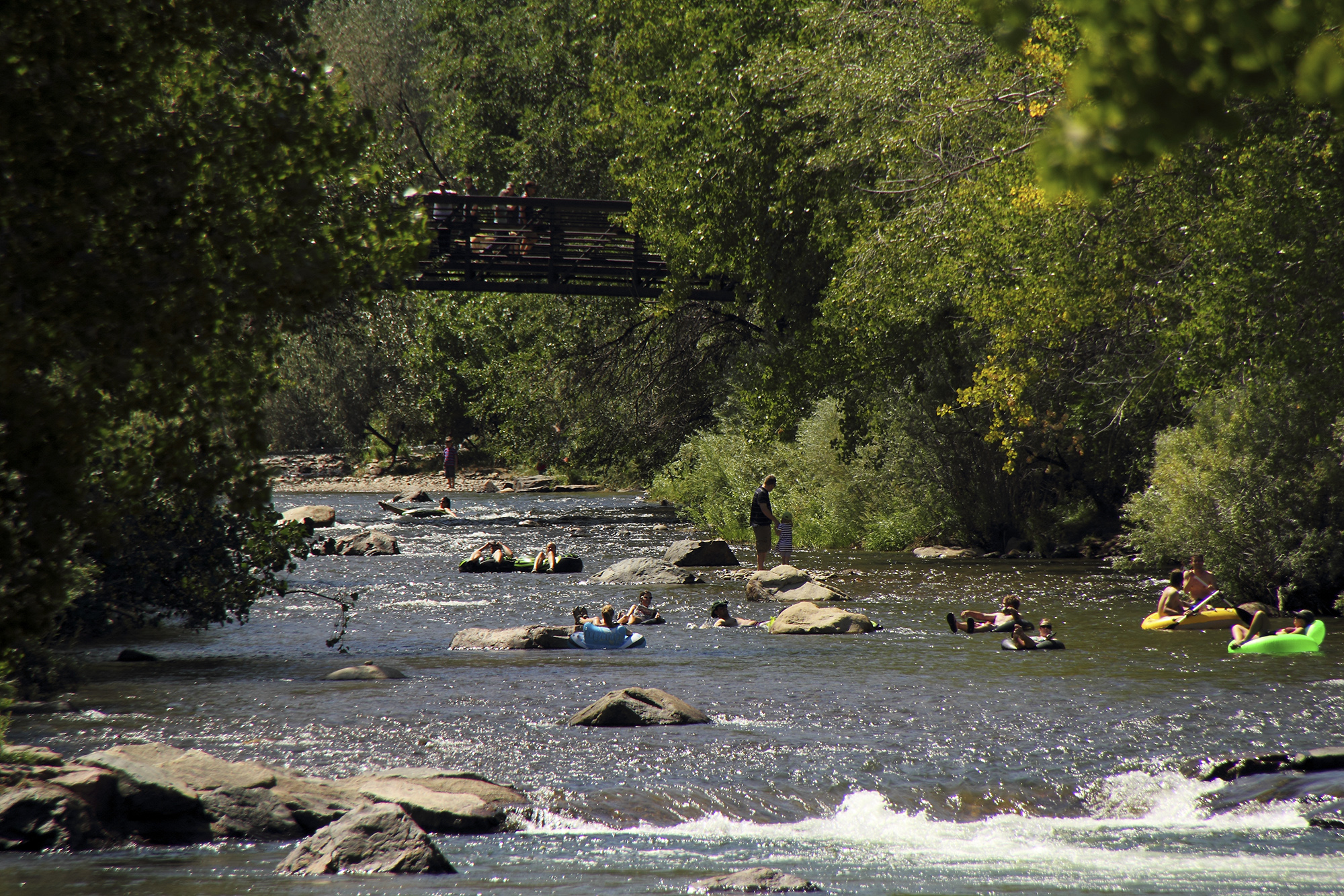 Clear Creek Will Be Closed For Tubing And Swimming On July 4