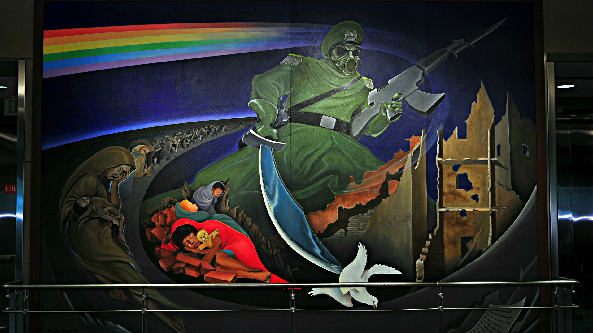 <p>With its lurid and unusual public art works, Denver International Airport is just one of Denver's scariest spots.</p>