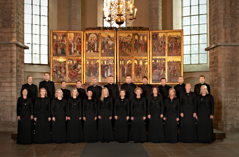 <p>The Estonian Philharmonic Chamber Choir</p>