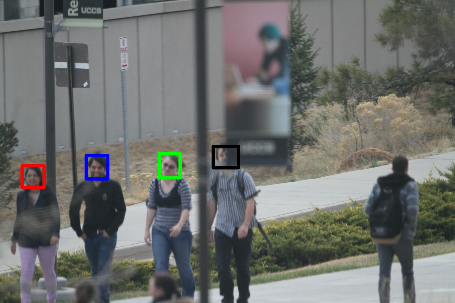 Image from facial recognition study by Terrance Boult (these are students who signed permission for their faces to be represented in the study)