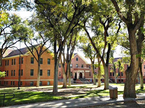 <p>The Fort Lyon campus in southeast Colorado.</p>
