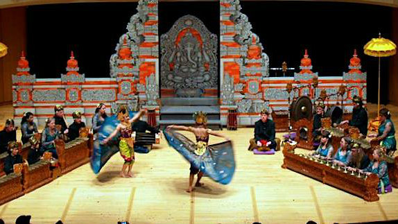 <p>The Denver-based Gamelan Tunas Mekar orchestra performs traditional Balinese music and dance.</p>