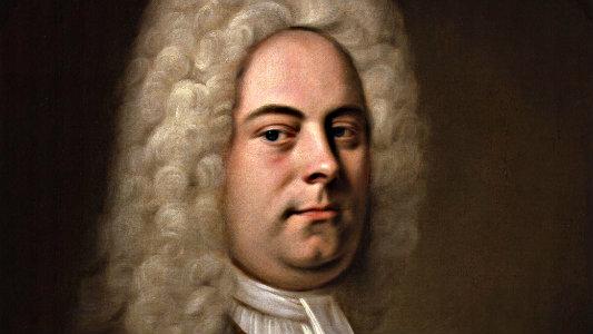 <p>George Frideric Handel.</p>