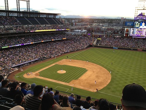 <p>Coors Field in Denver.</p>