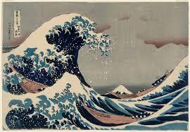 "<p>Katsushika Hokusai's ""The Great Wave offKanagawa""</p>"