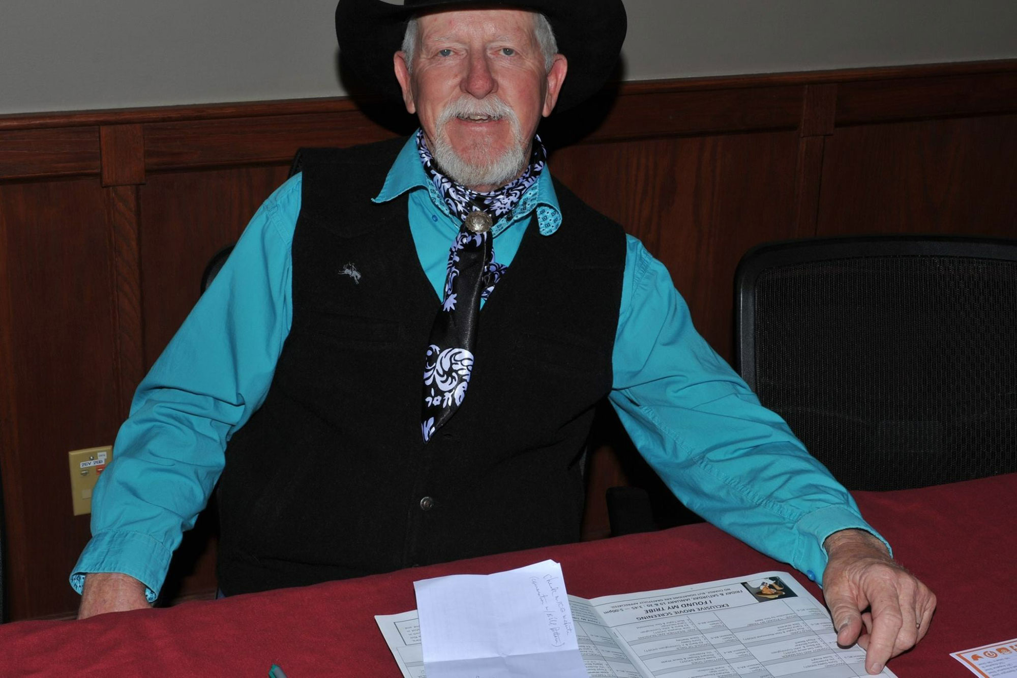 <p>Cowboy poet and rancher Terry Nash.</p>