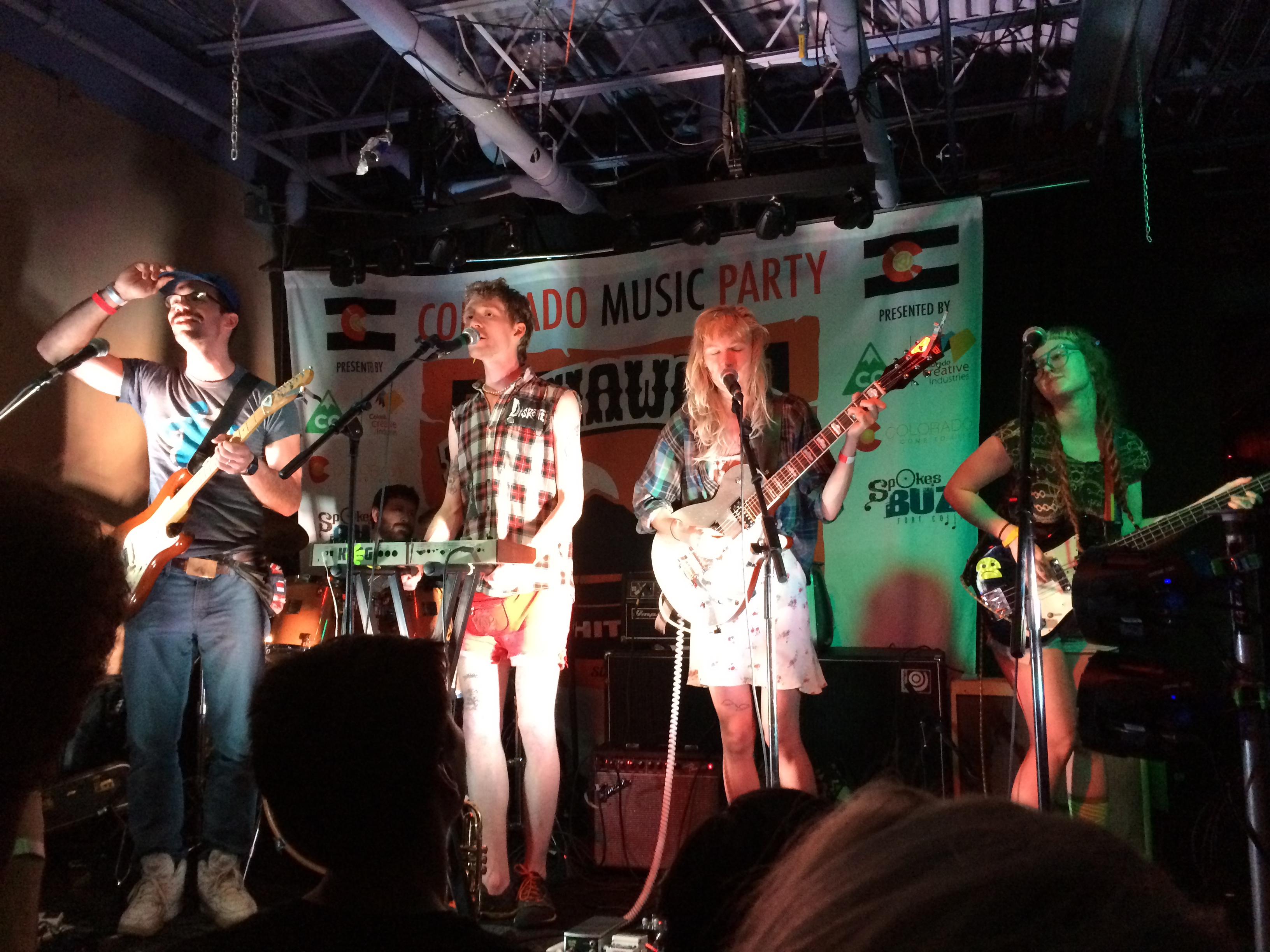 <p>Strawberry Runners at theColorado Music Party at SXSW 2015</p>