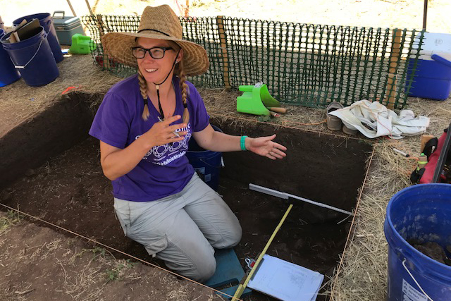 <p>Michele Koons is the Curator of Archaeology at the Denver Museum of Nature & Science. It was her idea to open the Magic Mountain site to the public.</p>