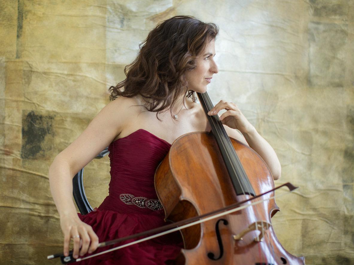 <p>Cellist Inbal Segev</p>
