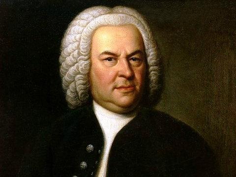 <p>Johann Sebastian Bach.</p>
