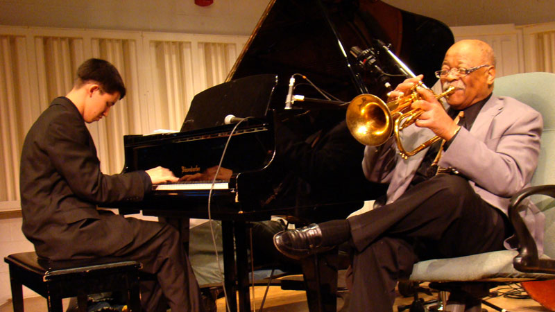 """<p>In the documentary """"Keep on Keepin' On,"""" legendary jazz musician Clark Terry becomes the mentor of a blind 23-year-old piano prodigy.</p>"""