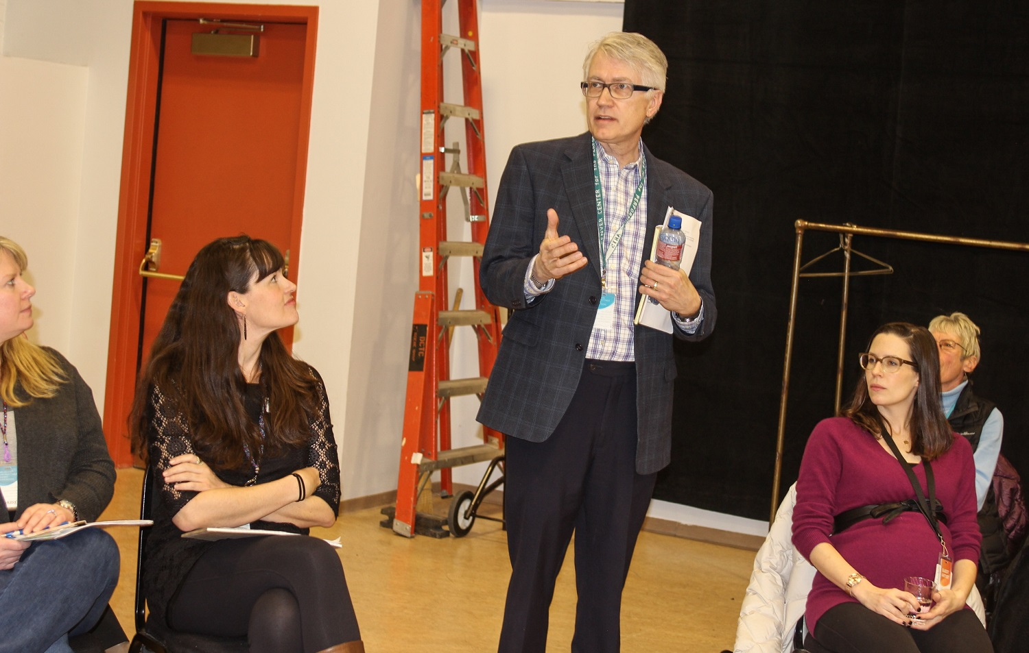 <p>Kent Thompson welcomes the cast and crew of the 2016 Colorado New Play Summit. </p>