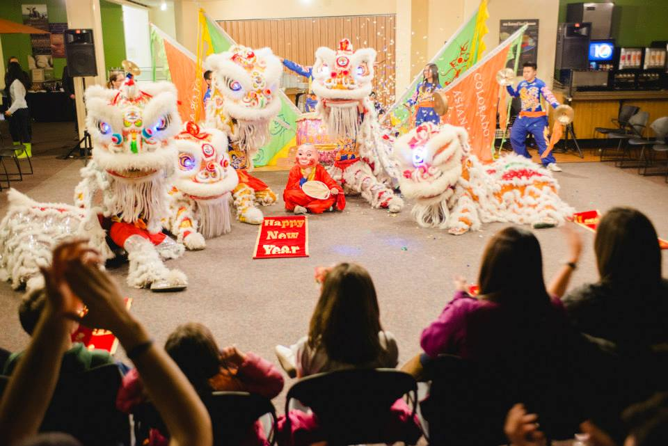 <p>TheColorado Asian Cultural Heritage Center performs a traditional lion dance routine.</p> <div></div>