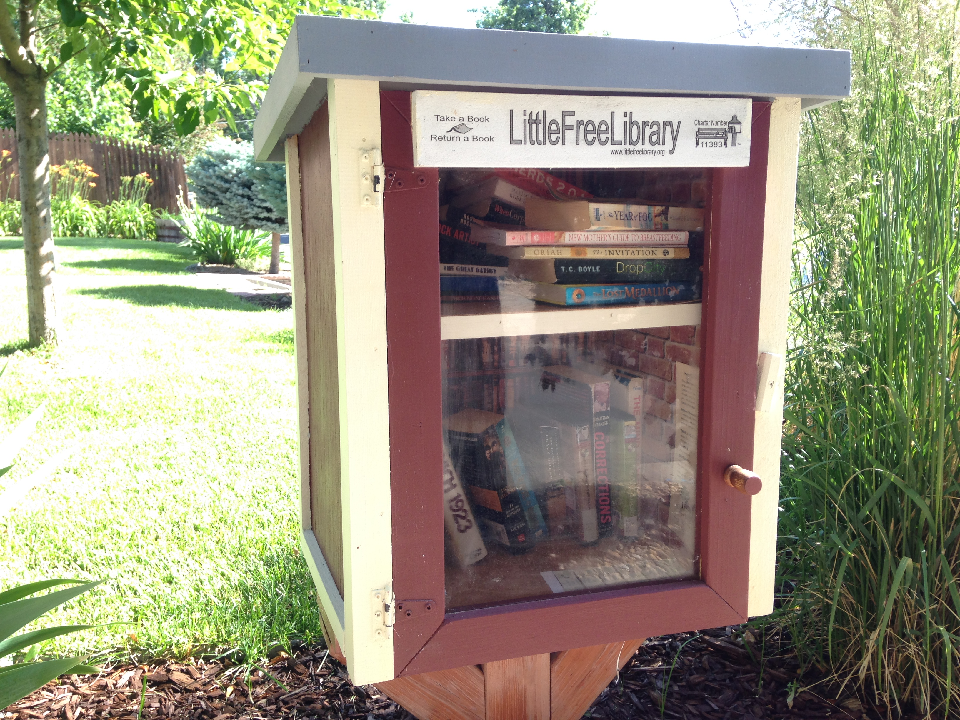 <p>Little Free Libraries are popping up in neighborhoods all over Colorado.</p>