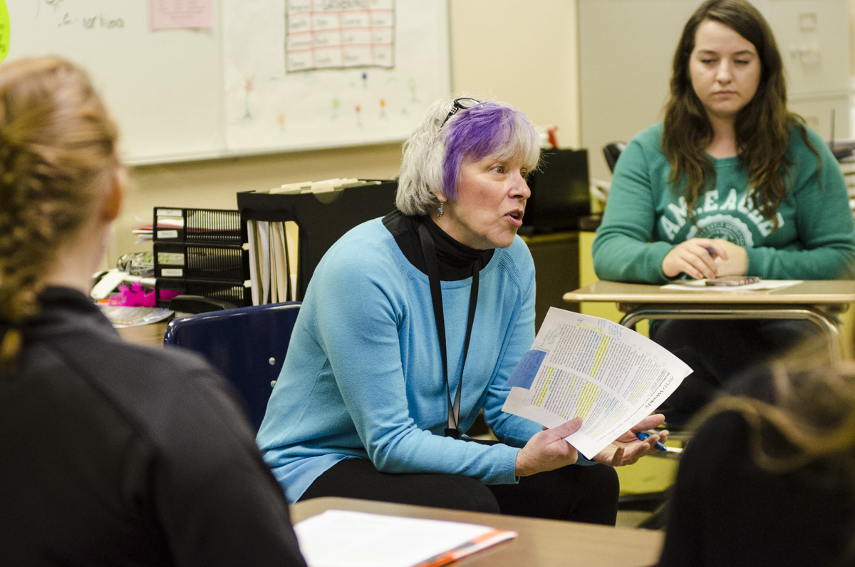 <p>Deb Schmuck teaches sociology at Eagle Valley High School in Gypsum, Colo. </p>