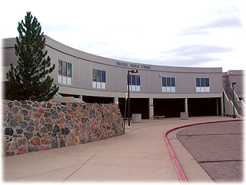 <p>Mrachek Middle School in Aurora, Colorado.</p>