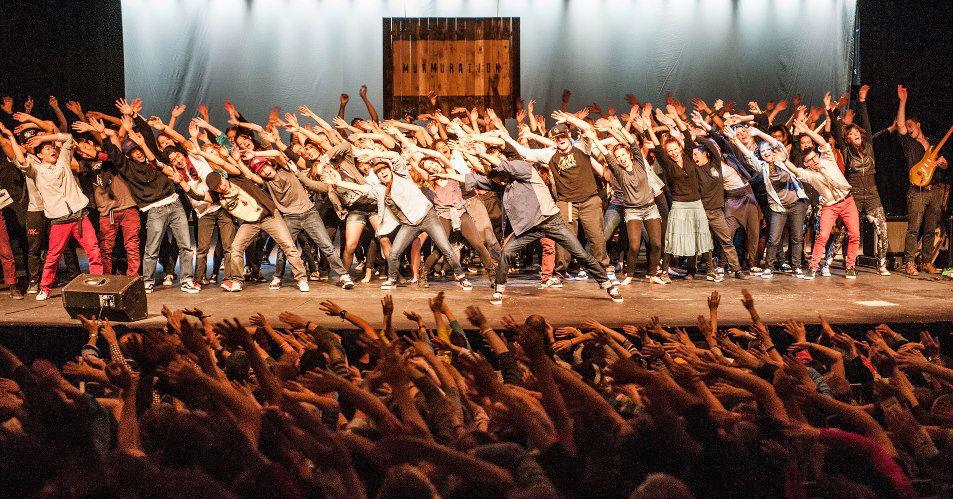 <p>The Murmuration dance showcase took place at the Boulder High School auditorium in 2013.</p>