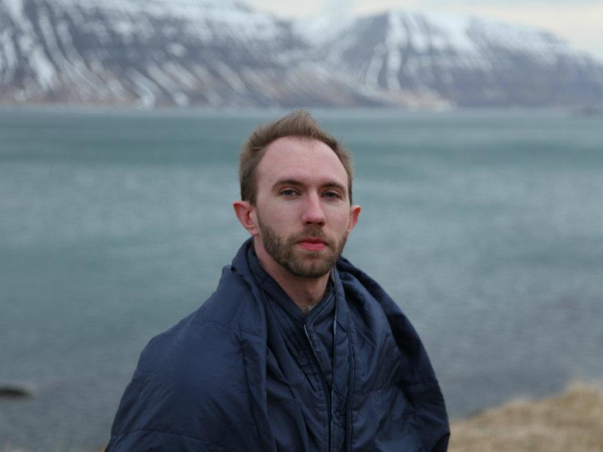 <p>Composer Nathan Hall</p>