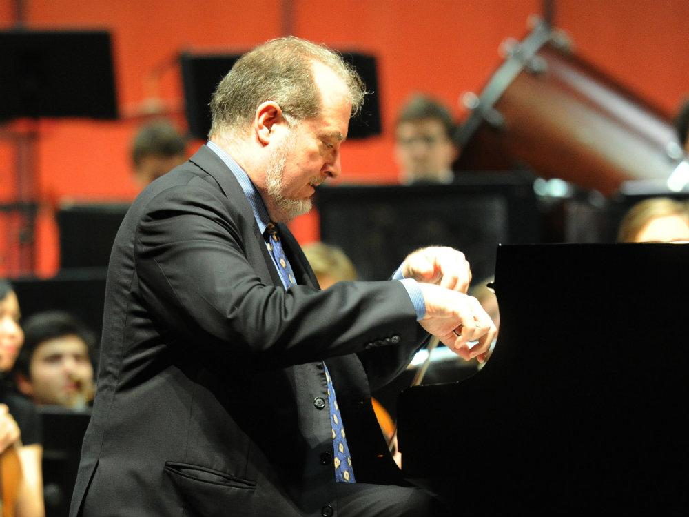 <p>Pianist Garrick Ohlsson</p>