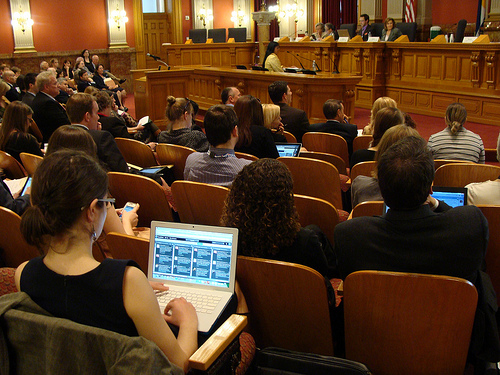 <p>The joint state and federal health care program for the poor got its first hearing this week in the state legislature, and no one testified against it.</p>