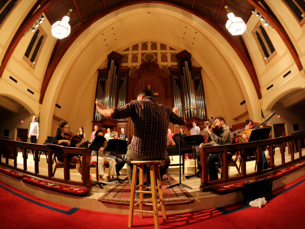 <p>Miami-based choral group Seraphic Fire rose to prominence in part by championing new pieces by living composers as well as music by Handel and Monteverdi.</p>