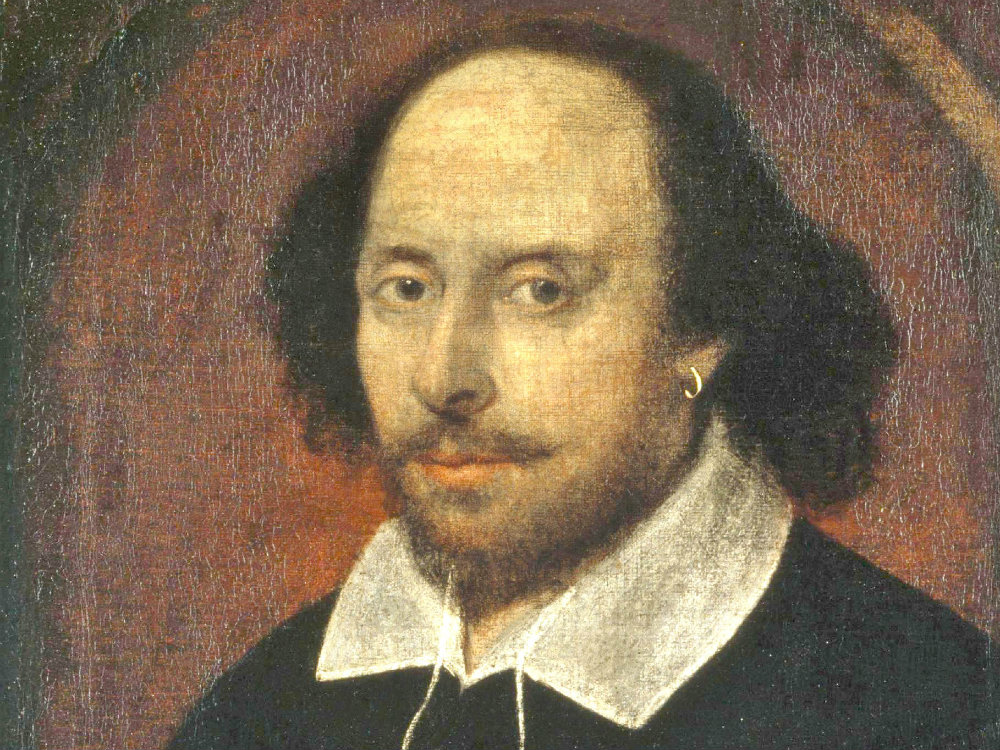 <p>A portrait of William Shakespare. The Bard died April 23, 1616, but continues to inspire us -- often through music.</p>
