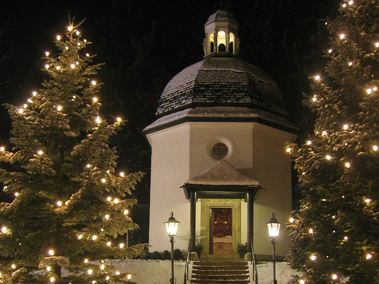 <p>The Silent Night Chapel in Oberndorf bei Salzburg, Austria.</p>